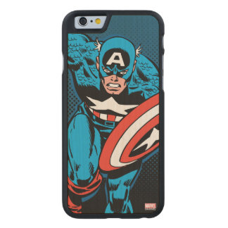 Captain America Run Carved Maple iPhone 6 Case