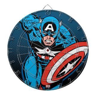 Captain America Run Dart Boards