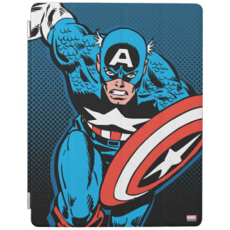 Captain America Run iPad Cover