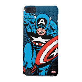 Captain America Run iPod Touch (5th Generation) Cases