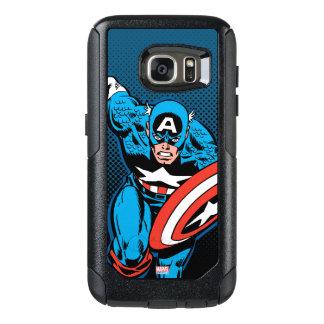 Captain America Run OtterBox Samsung Galaxy S7 Case