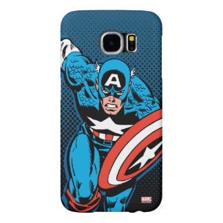 Captain America Run Samsung Galaxy S6 Cases