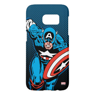 Captain America Run Samsung Galaxy S7 Case