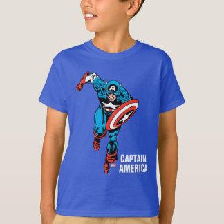 Captain America Run T-Shirt