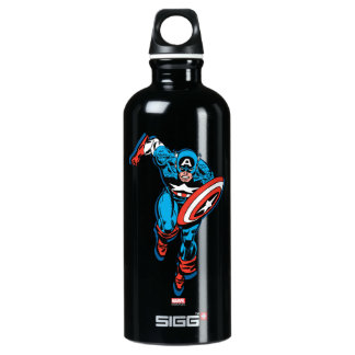 Captain America Run Water Bottle