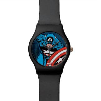 Captain America Run Wrist Watches