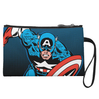 Captain America Run Wristlet