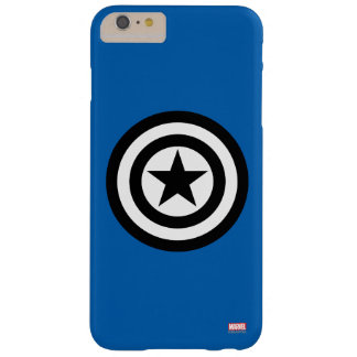 Captain America Shield Icon Barely There iPhone 6 Plus Case