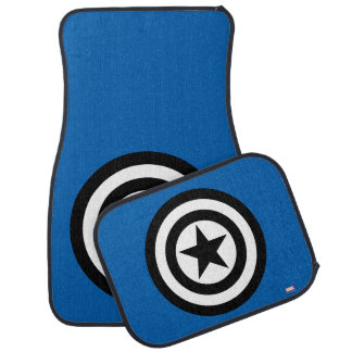Captain America Shield Icon Car Mat