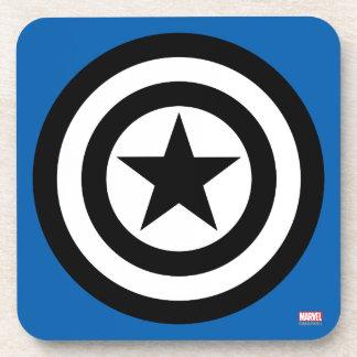 Captain America Shield Icon Coaster