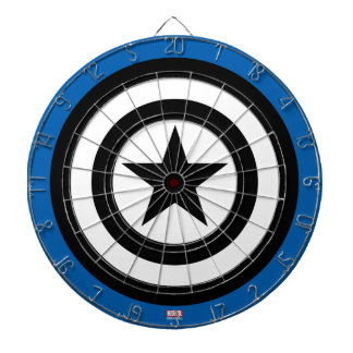 Captain America Shield Icon Dartboard