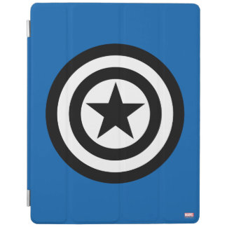 Captain America Shield Icon iPad Cover