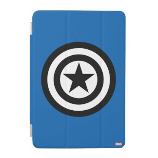 Captain America Shield Icon iPad Mini Cover