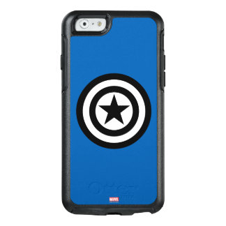 Captain America Shield Icon OtterBox iPhone 6/6s Case