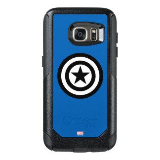 Captain America Shield Icon OtterBox Samsung Galaxy S7 Case