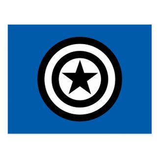 Captain America Shield Icon Postcard