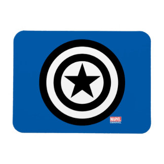 Captain America Shield Icon Rectangular Photo Magnet