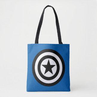 Captain America Shield Icon Tote Bag
