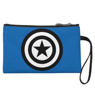Captain America Shield Icon Wristlet