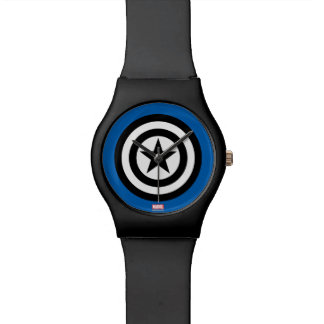 Captain America Shield Icon Wristwatch
