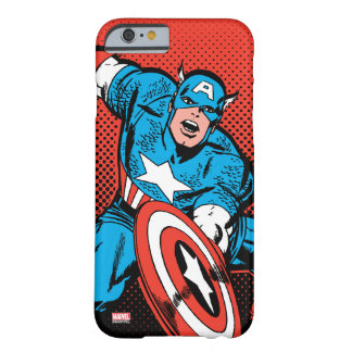 Captain America Shield Slam Barely There iPhone 6 Case