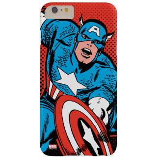 Captain America Shield Slam Barely There iPhone 6 Plus Case