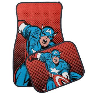 Captain America Shield Slam Car Mat