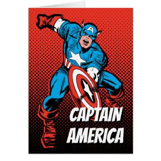 Captain America Shield Slam Card