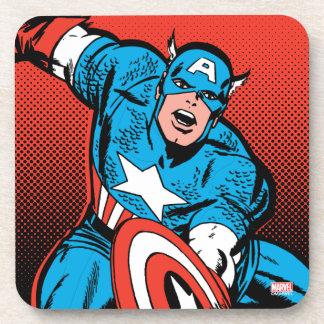 Captain America Shield Slam Coaster