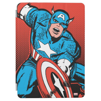 Captain America Shield Slam iPad Air Cover
