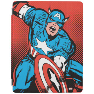 Captain America Shield Slam iPad Cover