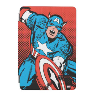 Captain America Shield Slam iPad Mini Cover