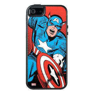 Captain America Shield Slam OtterBox iPhone 5/5s/SE Case