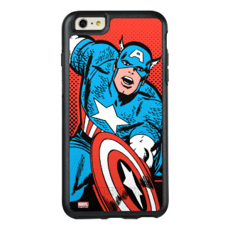 Captain America Shield Slam OtterBox iPhone 6/6s Plus Case