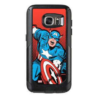 Captain America Shield Slam OtterBox Samsung Galaxy S7 Case
