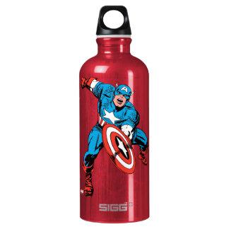 Captain America Shield Slam Water Bottle