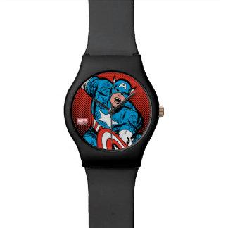 Captain America Shield Slam Wrist Watches