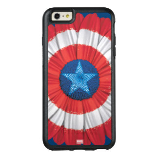 Captain America Shield Styled Daisy Flower OtterBox iPhone 6/6s Plus Case