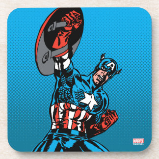 Captain America Shield Up Coaster