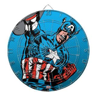 Captain America Shield Up Dart Boards