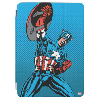 Captain America Shield Up iPad Air Cover