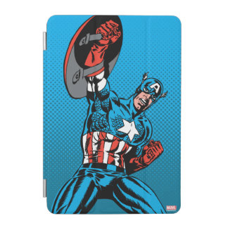 Captain America Shield Up iPad Mini Cover