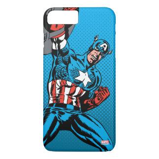 Captain America Shield Up iPhone 8 Plus/7 Plus Case