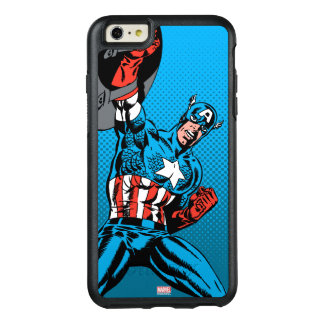 Captain America Shield Up OtterBox iPhone 6/6s Plus Case