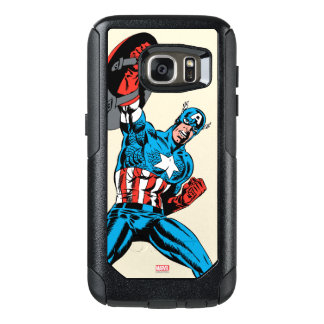 Captain America Shield Up OtterBox Samsung Galaxy S7 Case