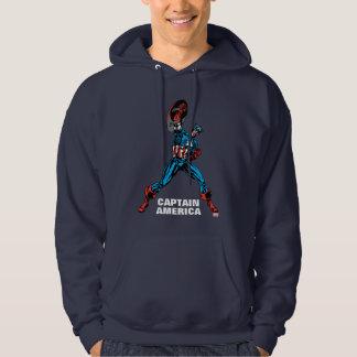 Captain America Shield Up Sweatshirts