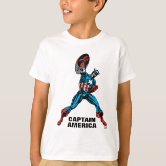 Captain America Shield Up Tee Shirts