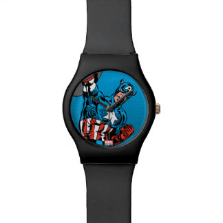 Captain America Shield Up Watches