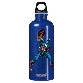 Captain America Shield Up Water Bottle