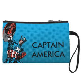 Captain America Shield Up Wristlet